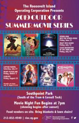 Outdoor movies this summer, starting with Roosevelt Island